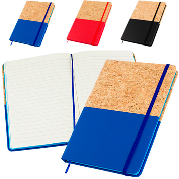 Cuaderno Corcho Color