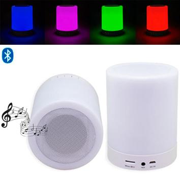 Parlante Bluetooth con Luz