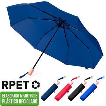 Paraguas Corto Reciclado RPET