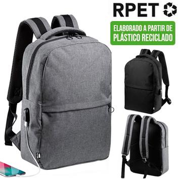 Mochila Porta Notebook Reciclada RPET