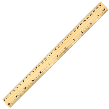 Regla de Madera 30cms