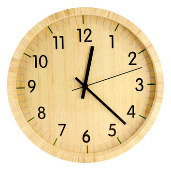 Reloj Pared Bamboo