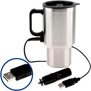 Mug Metálico USB
