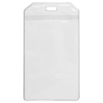 Porta Credencial PVC Clear