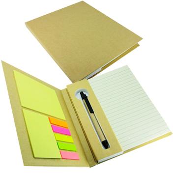 Cuaderno Eco Memo Set