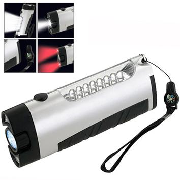 Linterna LED 4 en 1