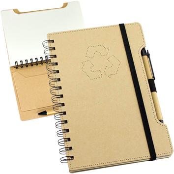 Cuaderno Eco con Lápiz