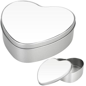 Caja Metálica Corazón Full Color
