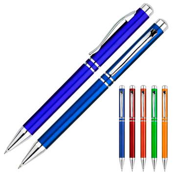 Bolígrafo Plástico Metalizado